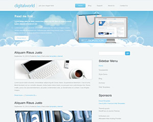 CloudTop Website Template