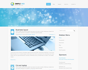 CorporateLuxe Website Template