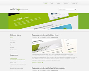 GreenSpark Website Template