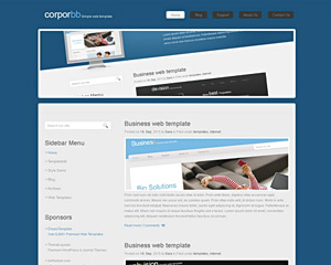 Monster Website Template