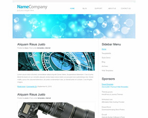 WhiteTek Website Template