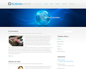 DigitalWord Website Template