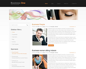 SimplePageDesign Website Template